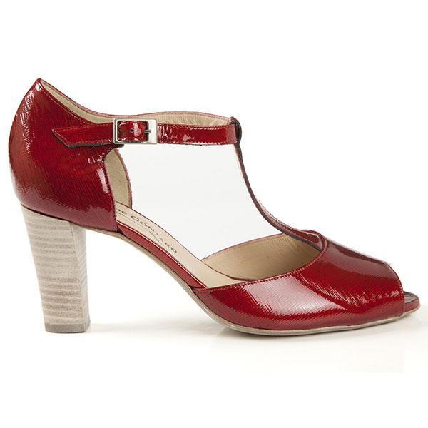 14ef02ab55a45e ESCARPIN Andy Verni Rouge (STÉPHANE GONTARD) - chaussures pour femme